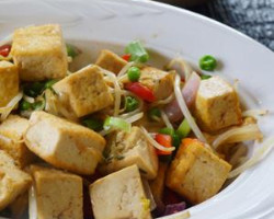 Vegetables with Tofu & Bean